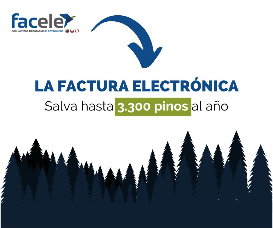 La Factura Electrónica contribuye con el medio ambiente